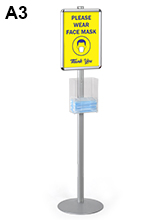 Floor Standing PPE Dispenser