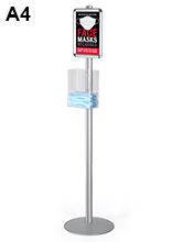 Mask Dispenser Stand