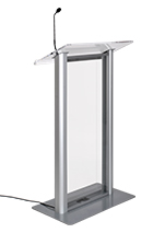 Podium with Built In Microphone