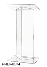 Sleek Acrylic Podiums