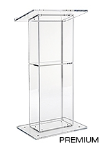 Clear Acrylic Lecterns