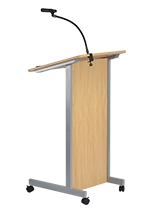 Lectern and Microphone Clamp