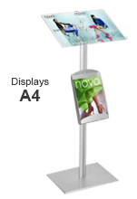 A4 Binder Stand Display