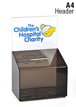 Lockable Donation or Suggestion Box