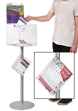 Floor Standing Suggestion Box