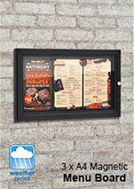 Cafe Menu Boards