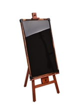 Easel and Blackboard