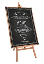 Blackboard with Easel