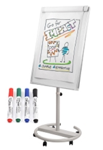 Portable Whiteboard Easel