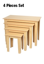 Maple Nest of Tables