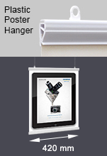 Plastic Poster Hangers - A3