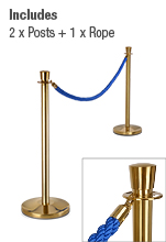 Rope Stanchion Set