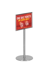 625mm Floor Stand for Signs