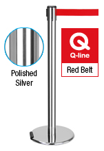 Steel Barrier Pole