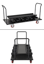 Stanchion Transport Cart