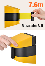 Wall Mounted Barrier Tape