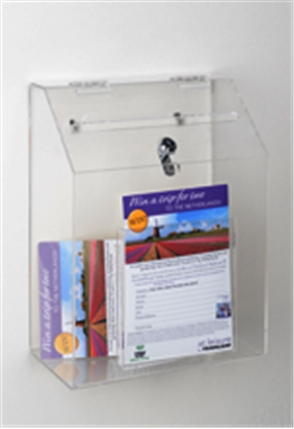 Wall Mount Ballot Box