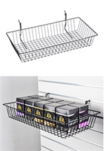 Metal Baskets for Pegboard