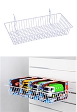 Wire Baskets for Slatwall