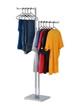 Straight Arm Clothes Rack