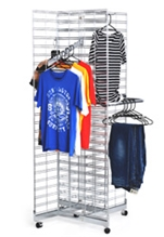 Freestanding Gridwall Display