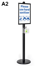 Sanitising Stand Dispenser