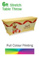 Stretch Printed Tablecloths