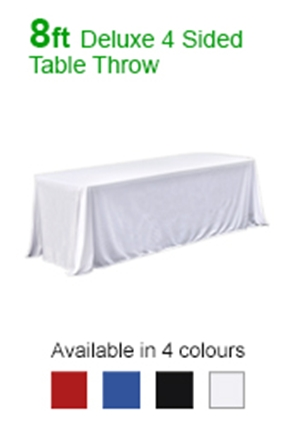 Coloured Table Throws