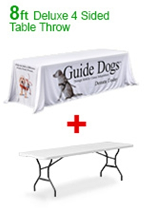 Deluxe Printed Table Cloths