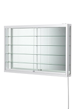 Retail Wall Display Case