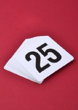 Restaurant Table Numbers
