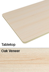 Oak Tabletop for Desk