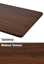 Walnut Table Top for Desk