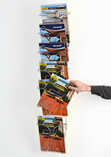 7-Tier A4 Magazine Racks
