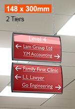 Suspended Ceiling Signs