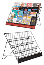 Table Top Magazine Rack