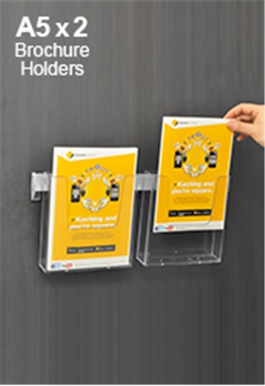 Brochure Wall Display