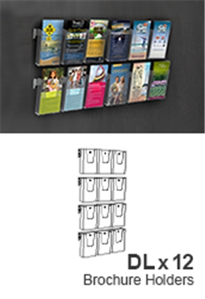 Hanging Brochure Display