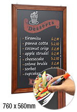 Coffee Board Menu