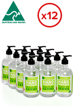 Hand Sanitiser Pack - 12 Bottles