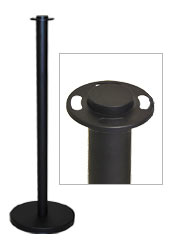 Matte Black Standard Barrier Post