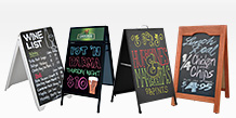 Restaurant A-Frame Signs
