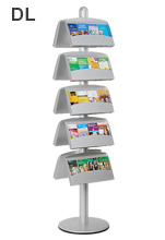 10 Pocket DL Brochures Holder