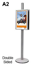 A2 Floor Standing Poster Holder