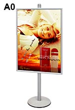 A0 Poster Display Signage Single Sided
