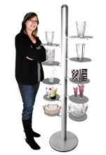 Free Standing Product Display Stand