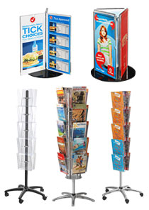 Floor Leaflet Dispensers 166 Slimline Warehouse