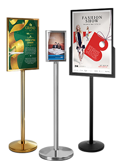 Poster Stands Have Many Size For Use In Many Locations