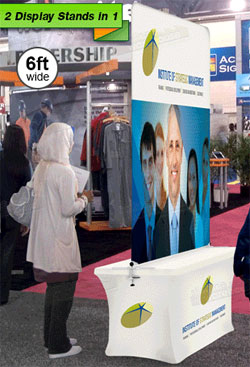 Portable Popup Displays