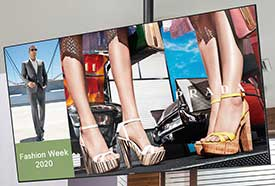 Digital Signage for retail & restaurants